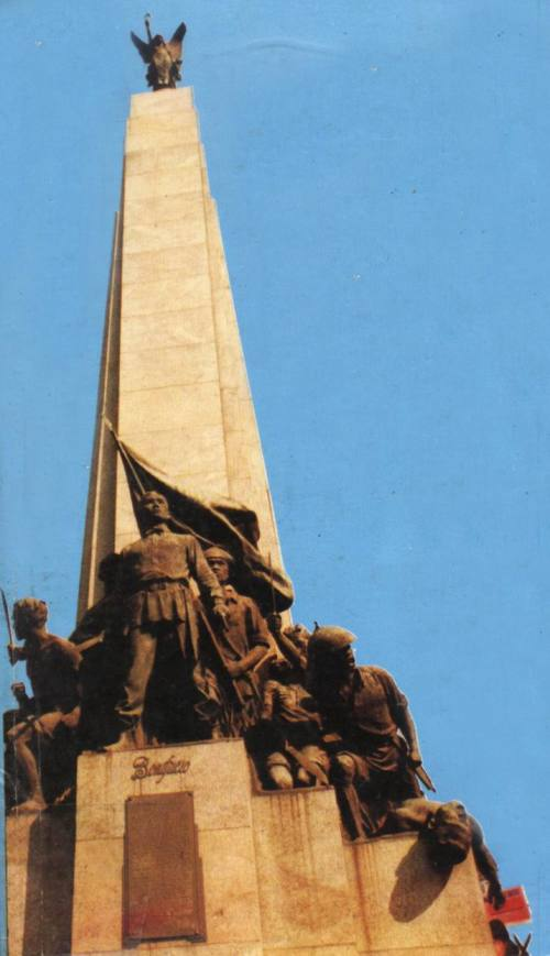 Monumento ni Bonifacio sa Caloocan.  Obra maestra ni Guillermo Tolentino.  Kuha ni Prop. Enrico Gerard R. Azicate.