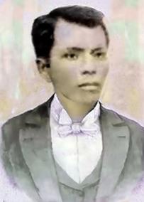 Mukha ni Andres Bonifacio na batay sa kanyang tanging larawan na