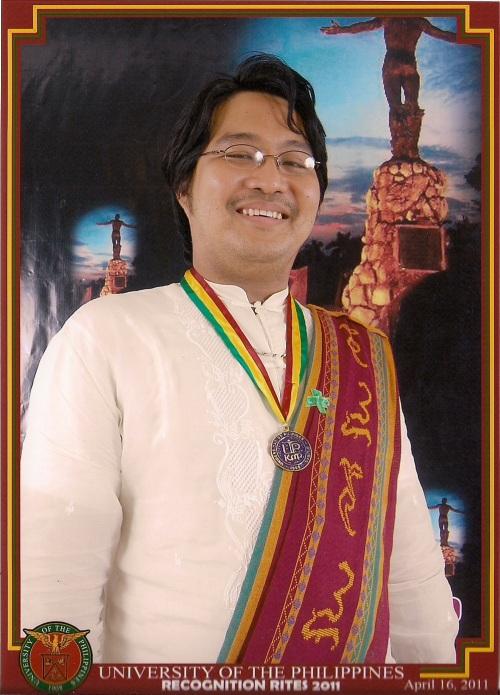 "Michael Charleston ""Xiao"" B. Chua, M.A. (History, 2010-2011)"