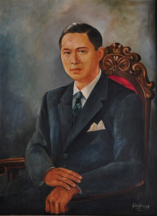 Floro Singson Crisologo, obra maestra sa loob ng Crisologo Memorabilia Museum sa Vigan, Ilocos Sur.