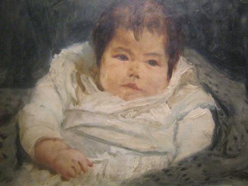 Maria de la Paz Luna o Bibi, obra ni Juan Luna, nasa Pambansang Sinupan ng Sining ng Pambansang Museo ng Pilipinas.