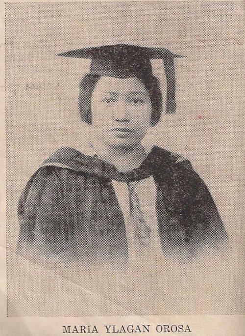 Maria Y. Orosa, kinikilalang imbentor ng banana ketchup.  Sa kanya ipinangalan ang Orosa St. na pumapagitna sa Rizal Park, Luneta sa Maynila.  Larawan mula sa dreamcatcherrye.blogspot.com.
