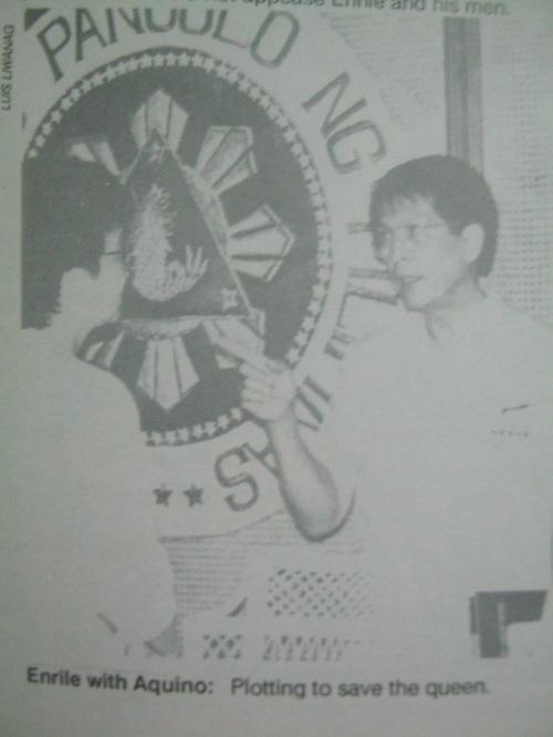 """Mula sa aklat ng PCIJ na """"Kudeta: A Challenge to Philippine Democracy."""""""