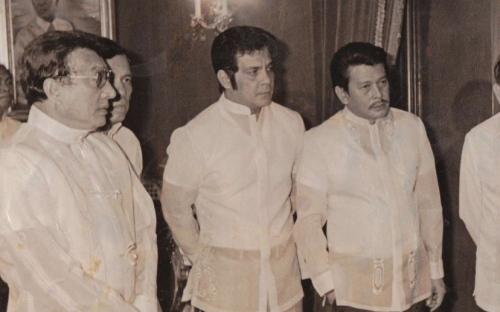 Tatlong hari:  Sina Dolphy,  FPJ at Erap Estrada sa Palasyo ng Malacanang.