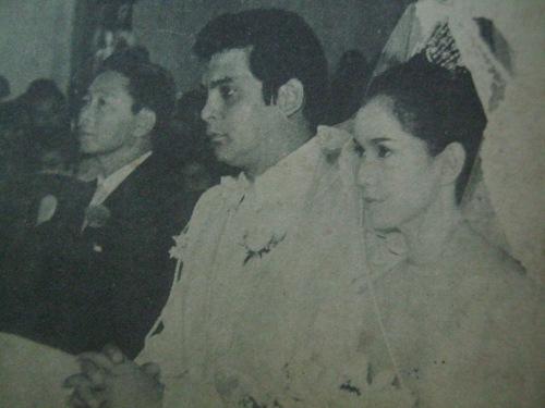 Ninong Andy:  Si Ferdinand Marcos noong kasal nina FPJ at Susan Roces, Pasko ng 1968.
