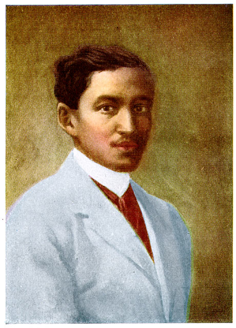 Rizal, painted by Juan Luna
