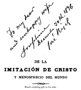 jose rizal handwriting