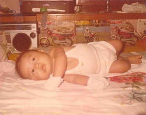 Baby Michael, 1984.