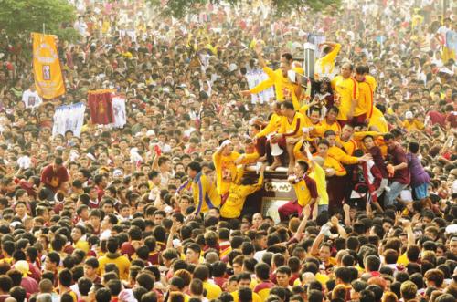 Ang pista ng Nazareno, January 9, 2013.