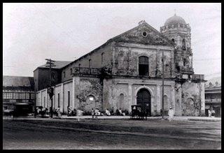 Lumang simbahan ng San Juan Bautista sa Quiapo.