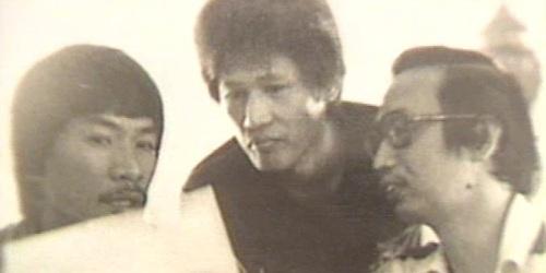 Saturnino Ocampo, Bernabe Buscayno alias Commander Dante, at Jose Maria Sison.