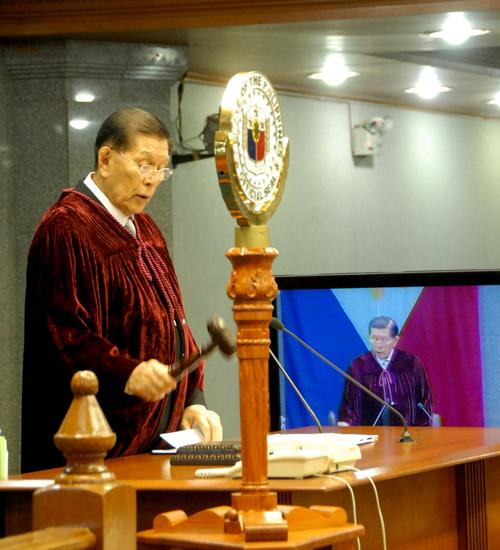 Pangulo ng Senado Juan Ponce Enrile