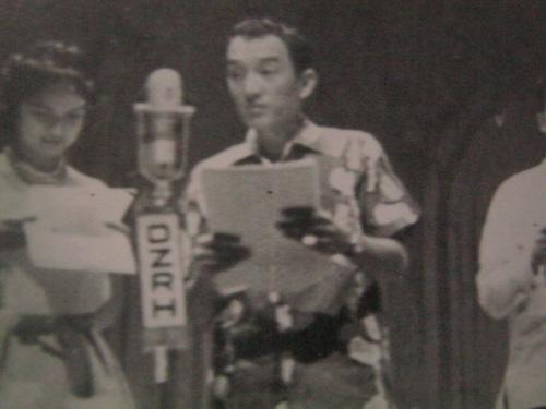 Dolphy, aktor sa radyo.  Mula sa Dolphy:  Hindi Ko Ito Narating ng Mag-isa, sariling talambuhay ni Dolphy na inedit ni Bibeth Orteza.