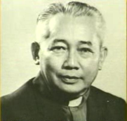 Padre Pacifico Ortiz, S.J. unang Pilipinong pangulo ng Pamantasang Ateneo de Manila.  Mula sa Lakas Sambayanan ng FFWWPP.