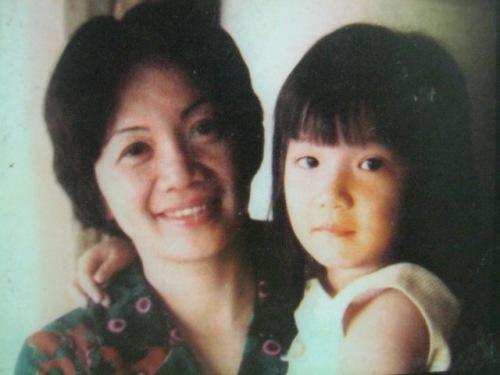 SI CORY BILANG INA:  Kasama si Kristina Bernadette.  Mula sa Ninoy and Cory Aquino Foundation.