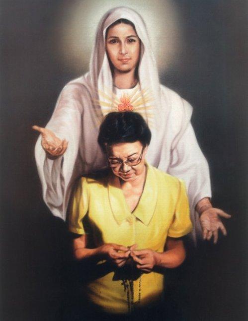 Ang imeheng pumatok sa bayan:  Mater Dolorosa na tulad ni Maria ang kalinisan.