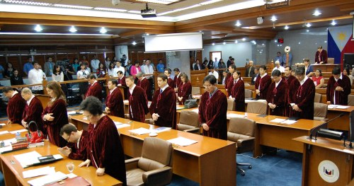 Ang mga Senador-Hurado ng Impeachment Court