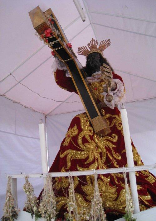 Nuestro Padre Jesus Nazareno del Quiapo.  Kuha ni Xiao Chua, 15 Marso 2008.