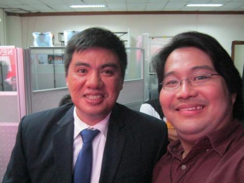 Si Xiao at si Atty. Dennis Manalo