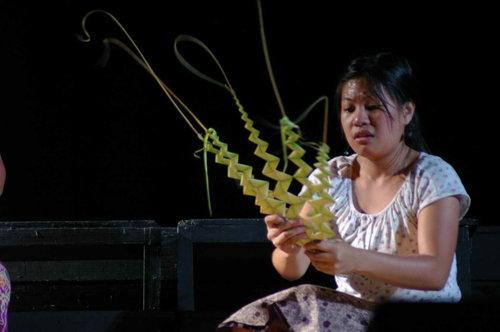 Linggo ng Palaspas.  Mula sa isang palabas sa teatro.  Kuha ni richardbalonglong.multiply.com