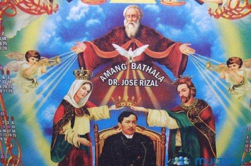 Si Rizal bilang Kristong Tagalog.  Mula sa lfrbonn.blogspot.com.