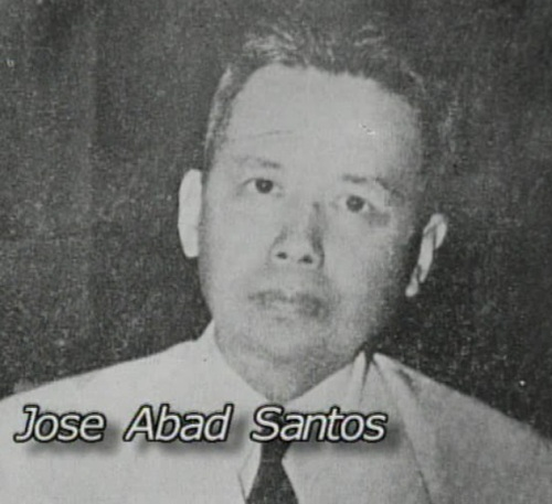José Abad Santos .  Mula sa Legacy of Heroes.