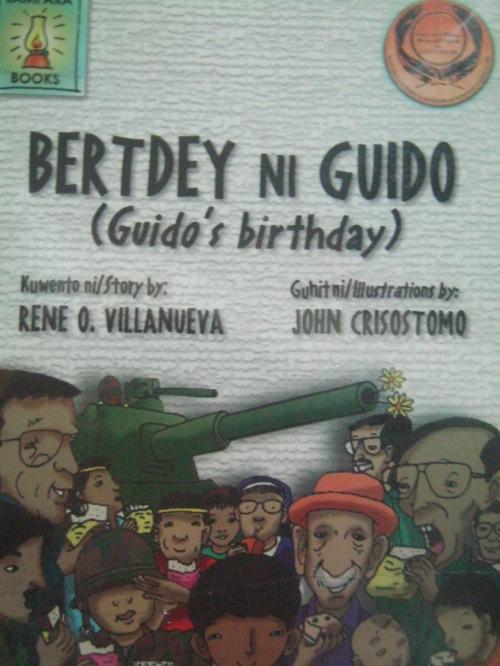 Bertdey ni Guido, isang kwentong pambata na isinulat ni Rene Villanueva at inilathala ng Lampara Books.