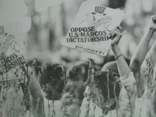 Nagboykot sa snap elections ang kaliwa.  Nagsisihan sila sa huli.  Mula sa Nine Letters.