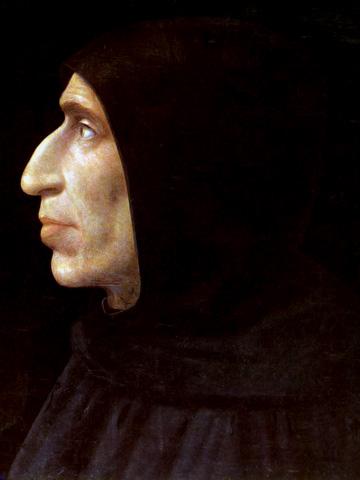 Girolamo Savonarola.  Mula sa Wikipedia