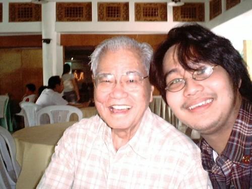 Unang pagkikita ni Xiao Chua at Dr. Conrado Dayrit sa Nawawalang Paraiso, Tayabas, Quezon, August 19, 2005.