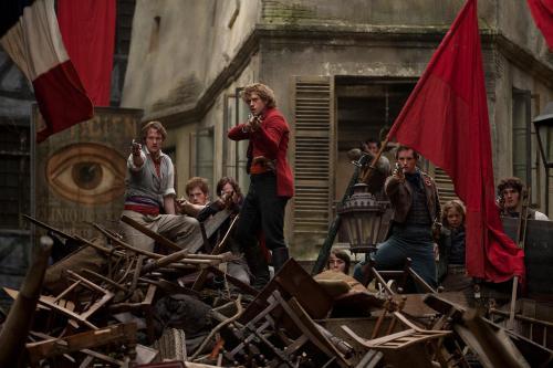 Ang barikada sa pelikulang Les Miserables (2012)