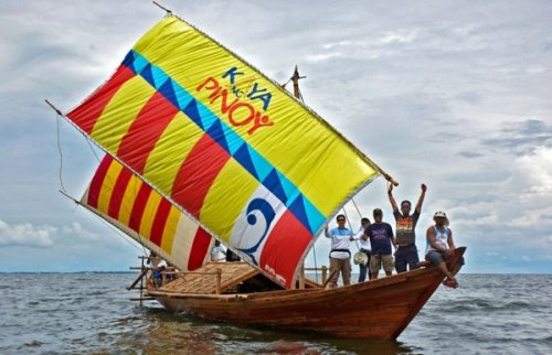 """Ang Mt. Everest Team ay sa kanilang """"Voyage of the Balangay."""""""