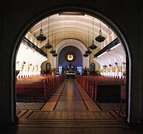Ang Kapilya ni San Jose sa De La Salle College.  Mula sa De La Salle, 1911-1986 ni Carlos Quirino