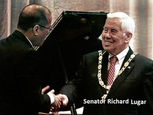 26 nina Sen. Richard Lugar sa kabila ng