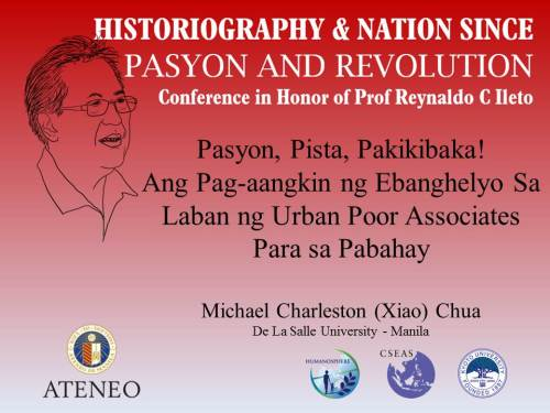 26 ukol sa aking pag-aaral ng nagpapatuloy na tradisyon ng pagsasadula ng mga urban poor sa Metro Manila