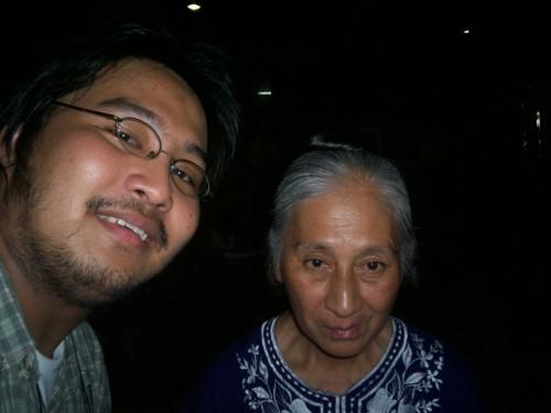 """Si Xiao Chua at si Nanay Isabel Suarez, ang """"Suprema"""" ng Suprema de la Iglesia del Ciudad Mystica de Dios."""