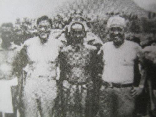 Si Diokno at Tanada sa Kalinga, sinamahan ang mga kasamahan na nakahubad.