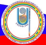 Ang sagisag ng Celyo Rizal, Inc.