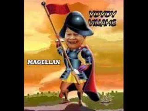 "Yoyoy Villame, umawit ng ""Magellan."""