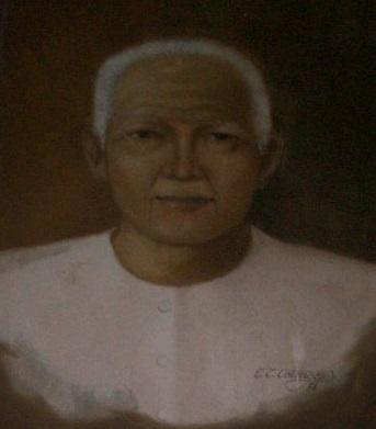 Isang paglalarawan kay Paciano Rizal.  Mula sa bahay ni Paciano Rizal.