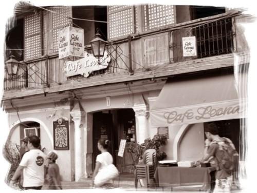 Cafe Leona sa Crisologo Street, Vigan, Ilocos Sur