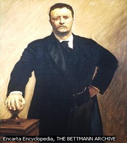 "Theodore ""Teddy Bear"" Roosevelt"