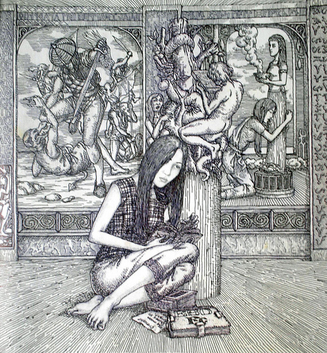 Binukot. Obra ni Erwin Cabarlos.
