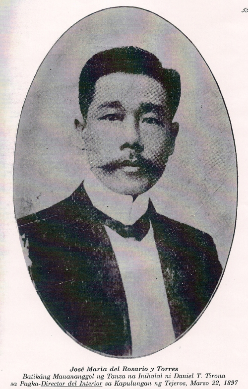 Atty. Jose del Rosario.  Mula kay Isagani Medina.