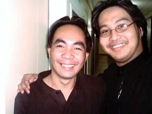 Dr. Vicente Villan at Xiao Chua, 2005.