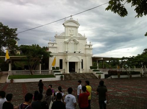 Ang Kapilya ng Banal na Krus kung saan matatagpuan ang arqueta na nagtataglay ng diumano'y bahagi ng orihinal na krus ni Kristo.