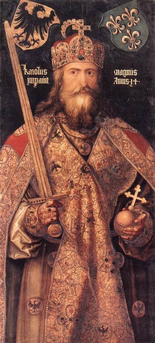 Carlomagno o Charlemagne, sa Ingles, Charles The Great.