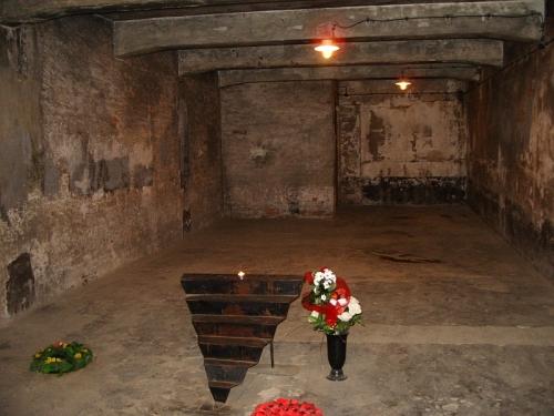 Gas Chamber sa Auschwitz.