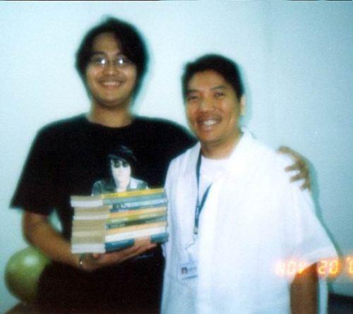 "Anak ni Ponce:  Historical columnist Lamberto Ambeth"" Ocampo kasama si Xiao Chua."