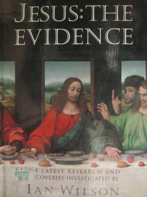 Pabalat ng Jesus:  The Evidence ni Ian Wilson.